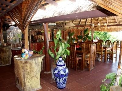 The Palapa at Bahia La Tortuga Fishing Lodge.
